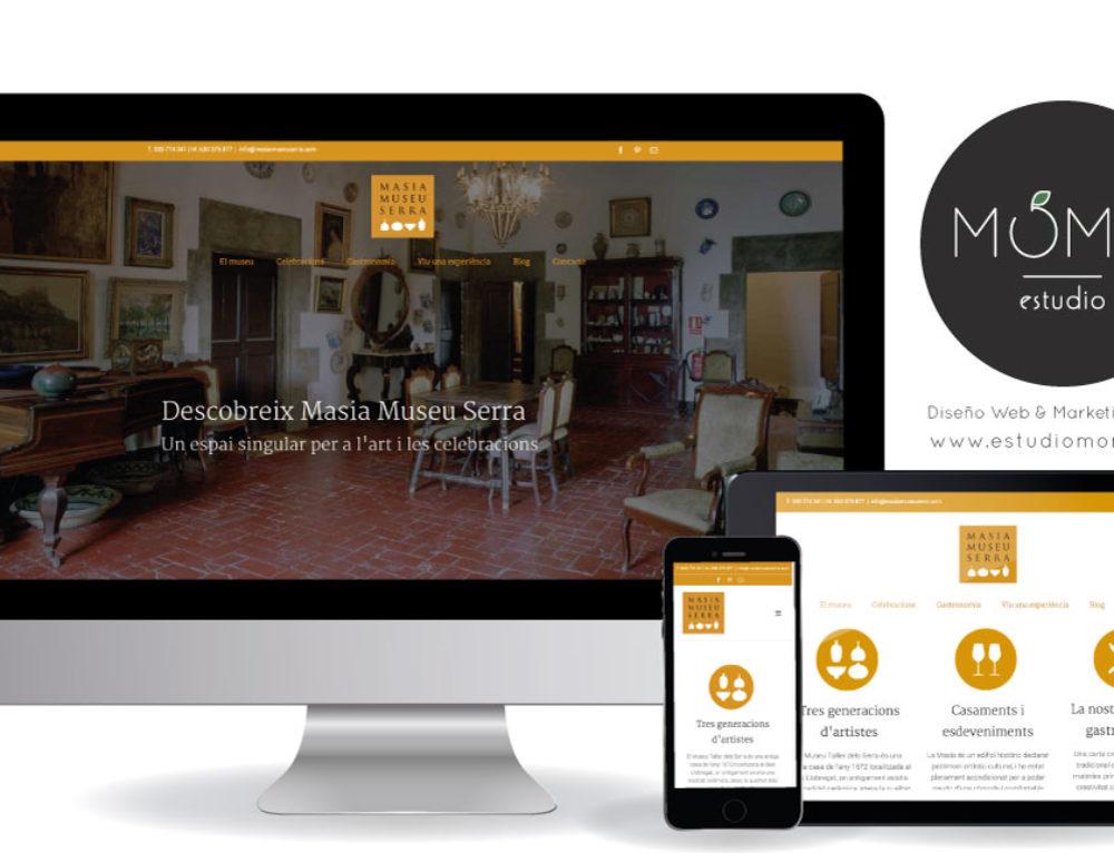 Masia Museu Serra estrena web